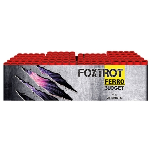 4574 - FERRO Foxtrot, 100 shots cakebox