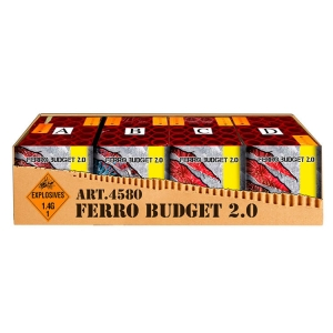 4580 - FERRO Budget 2.0, 80 shots cakebox