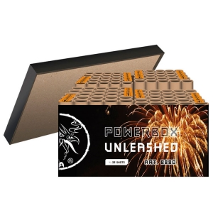 8880 - POWERBOX Unleashed, 100 shots cakebox